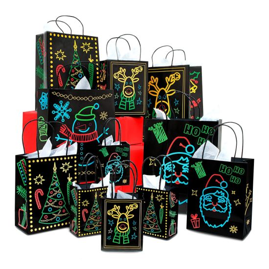Recyclable Customized Color Printing Art Paper Gift Bag