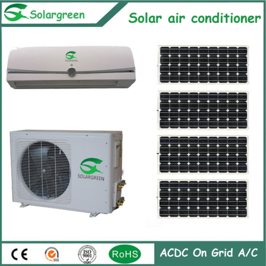 Acdc Hybrid Cheapest Efficient on Grid Solar Air Conditioner pictures & photos