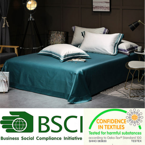 China Wholesale Cheap Cotton Bed Sheet For Hotel Manufacturer