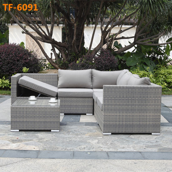 Better Homes And Gardens Replacement Cushions Azalea Ridge, Garden Wicker Rattan Furniture Corner Sofa With Storage Function China Patio Furniture Outdoor Sofa Set Made In China Com
