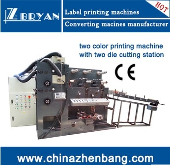 Automatic Flexographic Printing Machine (RY-320-2C) pictures & photos
