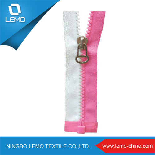 2016 Popular Resin Plastic Zipper for Shoes