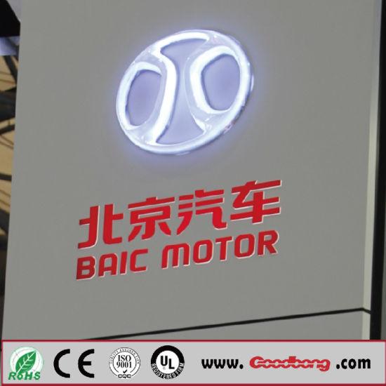 China Acrylic Material 4s Store Led Car Brands Logo Names China