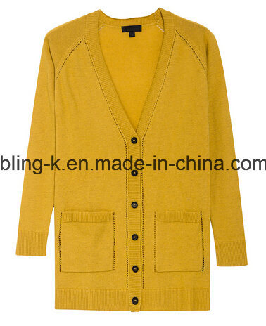 Spring Fall Thin Section Soft Cotton Cardigan for Women/Ladies
