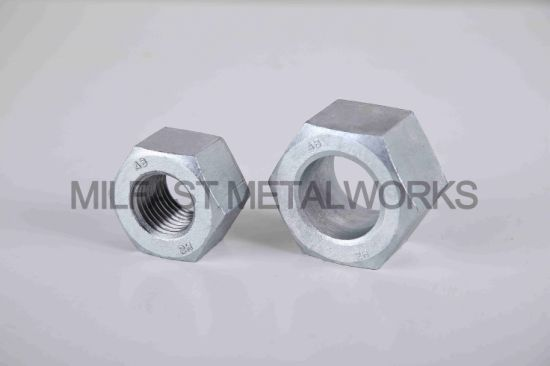 Heavy Hex High Strength Nuts ASTM A194 Gr. 2h