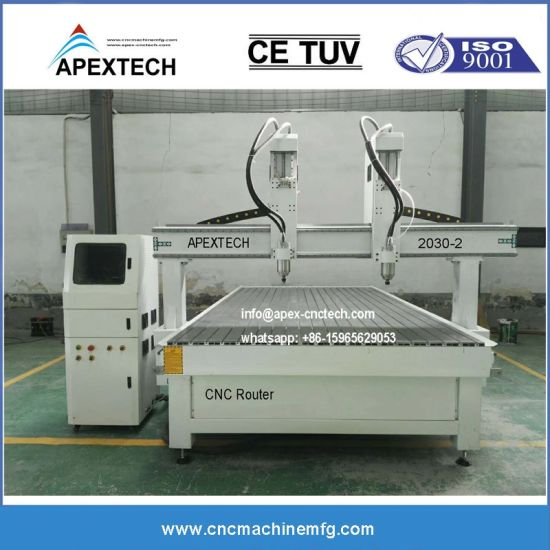MDF Door Production Line CNC Machine with Mach3 Ncstudio Controller