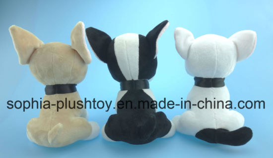 20cm Stuffed Plush Dog Toy 3 Asst. pictures & photos