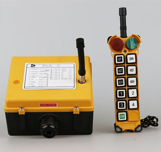 F24-10s Single Speed Remote Control, Wireless Crane Remote Control