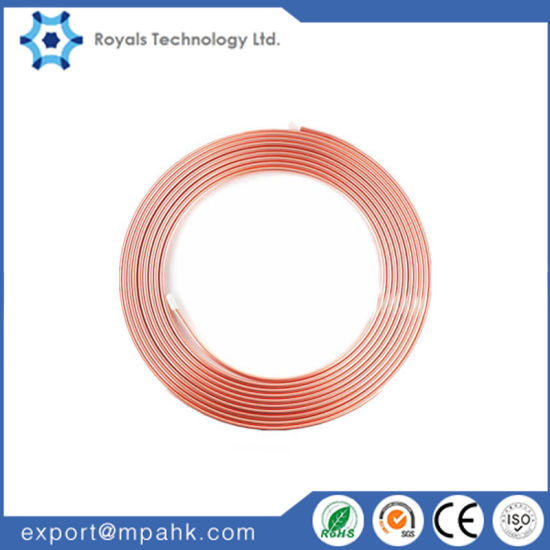 Refrigeration Pipe Seamless Copper Tube, Copper Pipe ASTM B280 pictures & photos