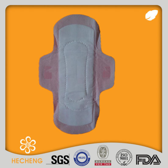 China Private Label Cotton Sexy Female Products Sanitary Napkin