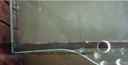 6mm 8mm 10mm 12mm Flat Toughened /Tempered Shower Glass Door pictures & photos