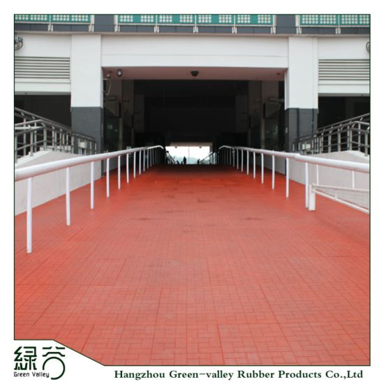 Factory Customized Colorful EPDM Anti-Slip Rubber Flooring Tiles Mats for  Horse Stalls/Garden/Walkway/Courtyard/Balcony