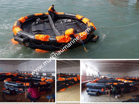 65 Persons Canopied Reversible Inflatable Life Raft pictures & photos