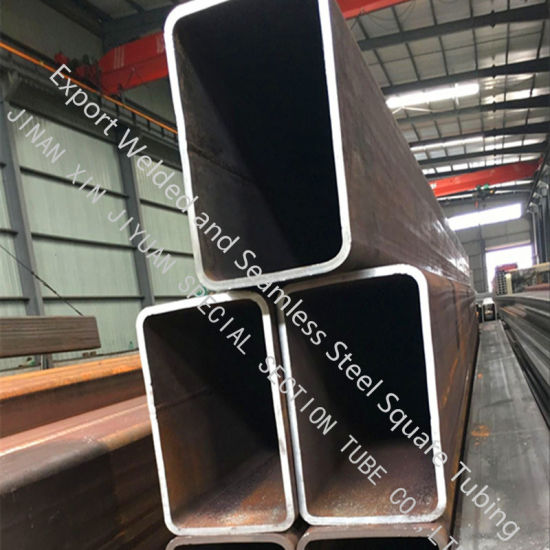 En10210 S355jrh S275jrh Square Iron Pipe and Rectangular Tube Used in Structural Project