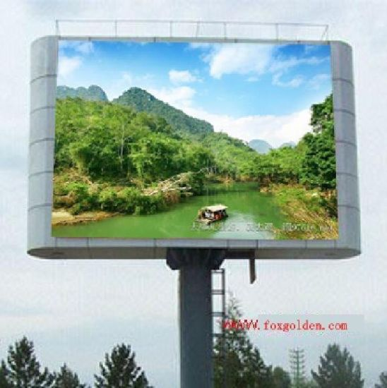 Outdoor Marketing Products P10 RGB LED Display