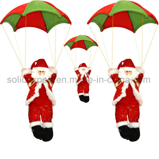 China Santa Claus Parachute Father Christmas Skydiving Rope Climbing ...
