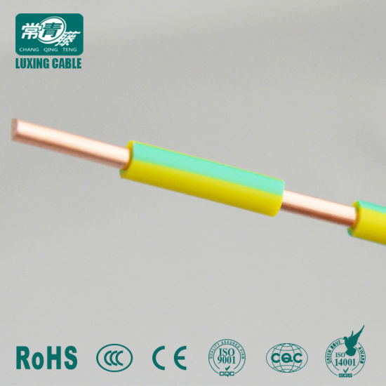 Electrical House Wiring Flexible Single Solid Stranded Copper Conductor on