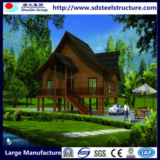 Comfortable Modern Modified Container Prefabricated Sunshine House pictures & photos