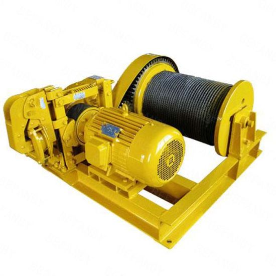 China Professional Supplier Electric Power Winch with Large Rope Capacity pictures & photos