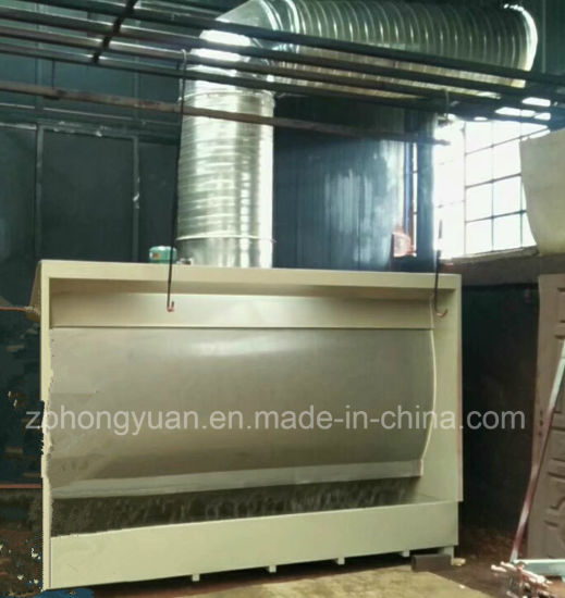China Supplier Water Curtain Spray Booth/Open Face Paint Booth Used for Wood, Furniture, Metal Coating