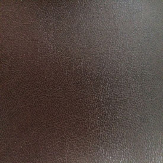 0.9mmm Lizhi Design PU Synthetic Leather pictures & photos