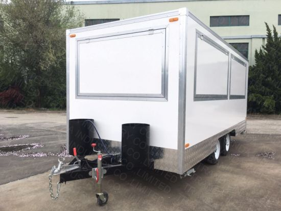 2018 Lowest Price Many Functions Fast Food Trailer