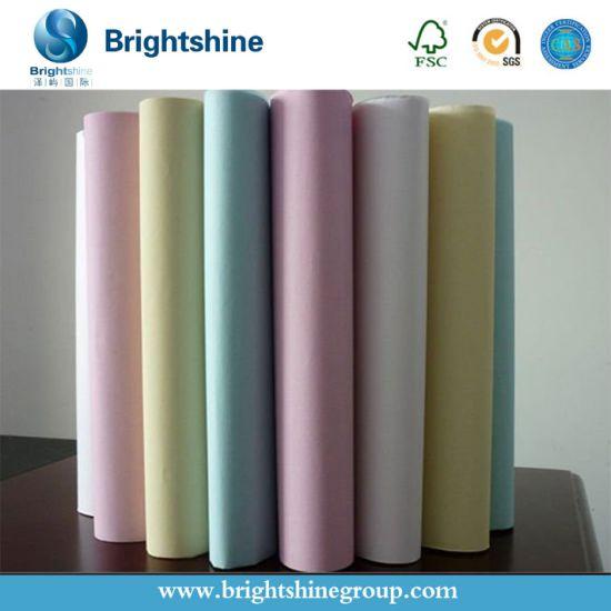 3ply Blue Image/Black Image CB CFB CF Carbonless Copy Paper