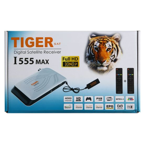 1080P Gx6605s Chip Solution Tiger FTA Full HD Digital Mini Receiver Satellite 2019 pictures & photos