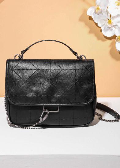 Trendy-Brand Style Factory OEM/ODM Popular Shouder Bag PU Leather Lady Handbag