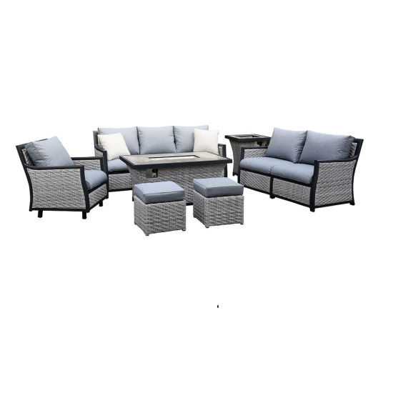 Fire Pit Table And Chair Set Patio