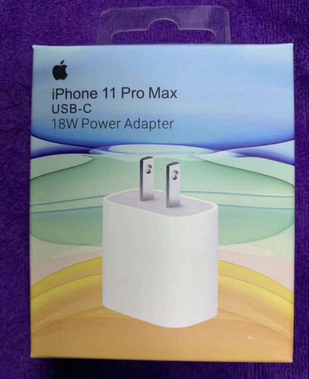 New USB-C 18W Power Adapter for Iphonex/Xs/11 Pd Charger