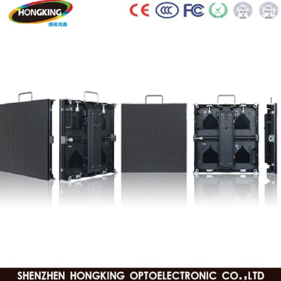 High Resolution LED Display Outdoor HD P4.81 Rental LED Display Panel /Stage Background Wall