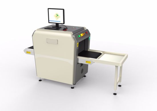 Small Size X Ray Baggage Scanner System for Hotel, School, Prison, Exhibition Security Use