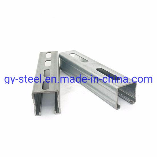 Plain Steel C Channel OEM Type Unistrut Factory Prices