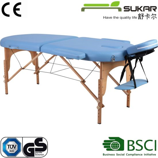 Massage Table with Ce Certificate/Folding Massage Table
