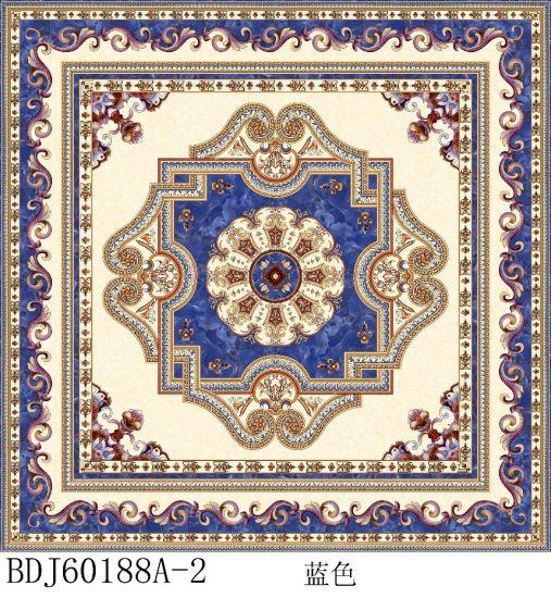 China Decor Tile Rangoli Carpet Tile Ceramic Floor Tile Porcelain