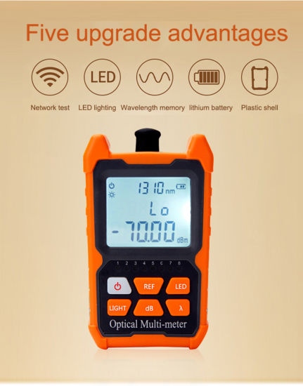 Mini Power Meter with Network Cable Tester T-400d/G-Rj pictures & photos