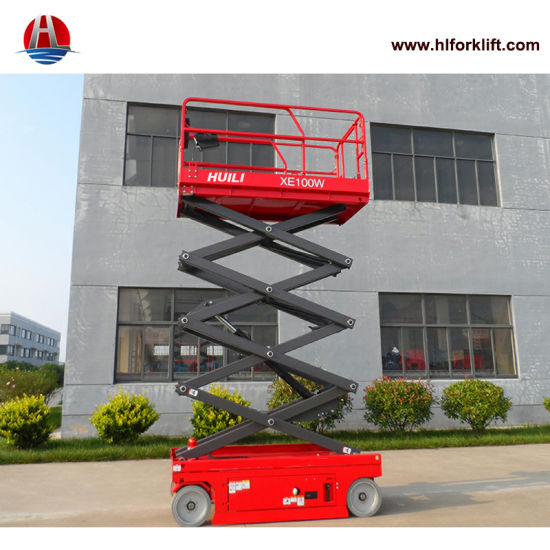 High Quality Factory Price Self-Propelled Electric Scissor Lift Xe-Series Xe100W