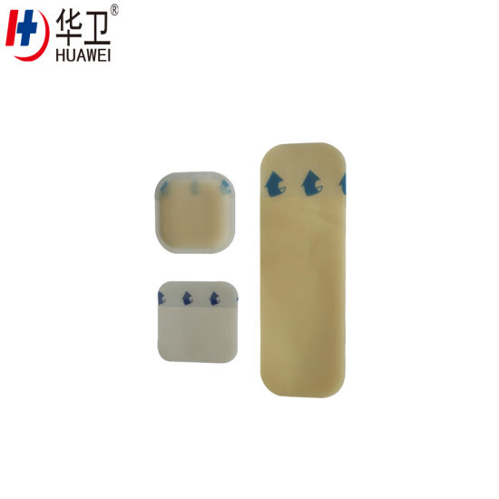 Medical Hydrocolloid Wound Dressing for Burn Wound, Ulcer
