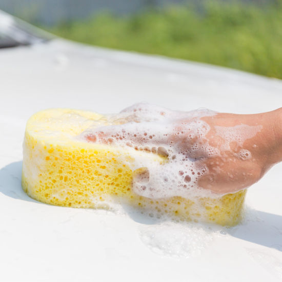 Wholesale New Fashion Polyurethane Foam Car Cleaning Sponge