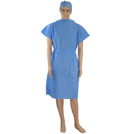 SMS Fabric Meltblown Disposable Sterile Surgical Medical Gown