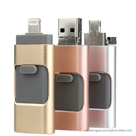 The Newest OTG USB Flash Drive for iPhone pictures & photos