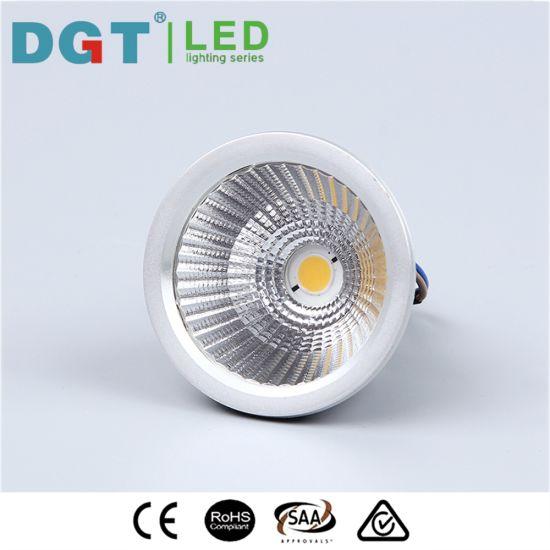 3W/4W/5W/6W/7W 80lm/W MR16 Aluminum LED COB Module Spotlight