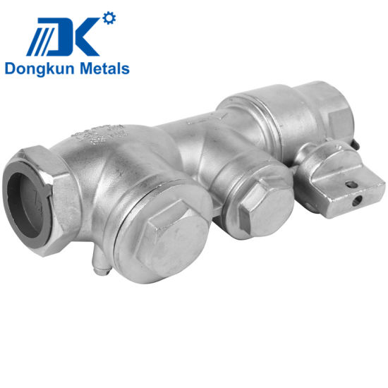 China Foundry Valve Body Investment Casting Lost Wax