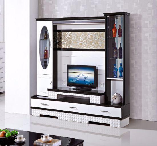 China Antique Large Wood Living Room Cabinet TV Set Unit - China TV ...