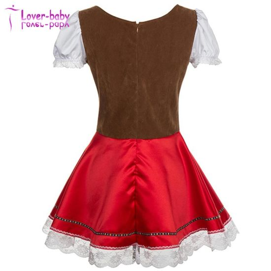 Womens Halloween Sexy German Dirndl Dress L1219 pictures & photos