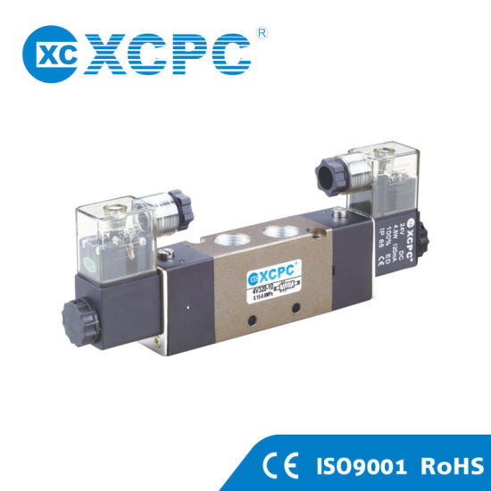 China Supplier 4V Series Wholesale Pneumatic Solenoid Air Flow Control Valve