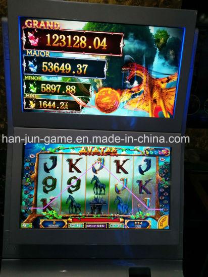 Avatar Arcade Video Casino Indoor Playgroud Amusement Game Machine with Jackpot