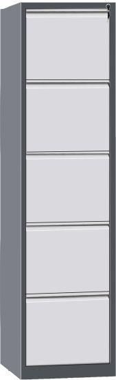 Manufacturer 5 Drawer Knock Struture Metal Filing Furniture Vertical File Steel Cabinet