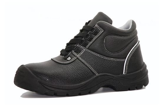 Security Equipment Cow Leather Work Safety Shoes pictures & photos